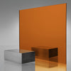 3MM ACRYLIC MIRROR - AMBER ORANGE 2422