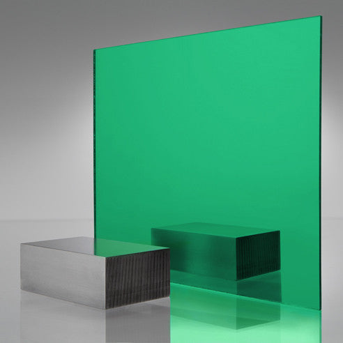 3MM ACRYLIC MIRROR - LIGHT GREEN 2414