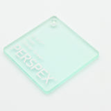 3MM ACRYLIC FROST - LIGHT GREEN S2 6T21