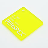 3MM ACRYLIC FROST - YELLOW S2 2T07