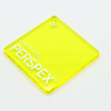 3MM ACRYLIC TRANSLUCENT GLOSS -YELLOW 2202
