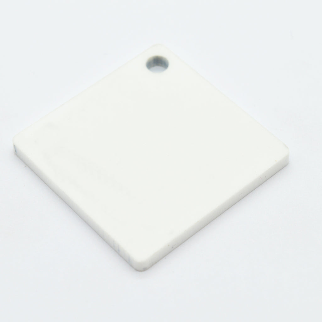 3MM MATTE SINGLE SIDED ACRYLIC - WHITE