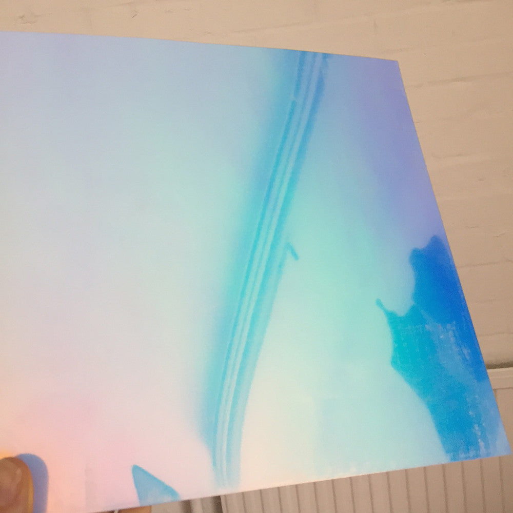 1mm Aurora Iridescent High Impact Polystyrene (HIPS) Sheet