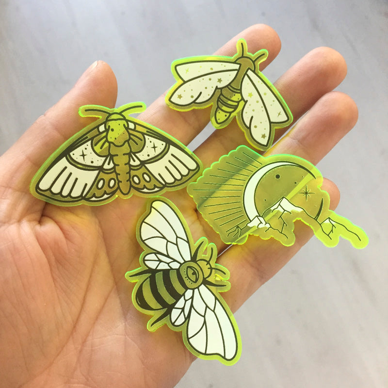 Printed Laser Cuts Sample Set