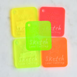 3MM ACRYLIC FLUORESCENT (FLUO/ NEON) - BRIGHT GREEN (NEW)