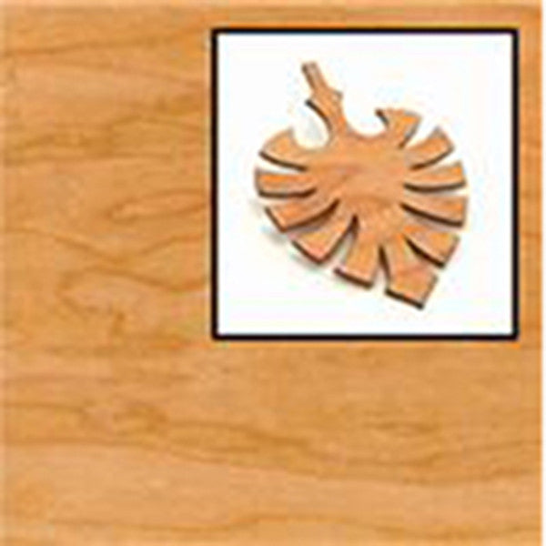4mm Cherry Wood Laminate Sheet Sketch Laser Cutting