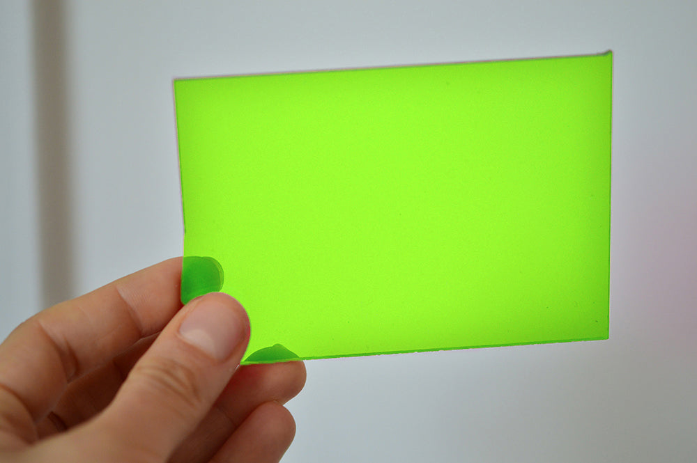 3MM ACRYLIC FLUORESCENT (FLUO/ NEON) - GREEN