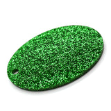 3MM ACRYLIC GLITTER - EMERALD/ BOTTLE GREEN