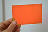 3MM ACRYLIC FLUORESCENT - ORANGE