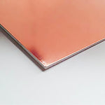 1mm Rose Gold High Impact Polystyrene (HIPS) Sheet