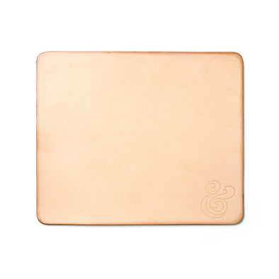 Premium Leather Mousepad Natural