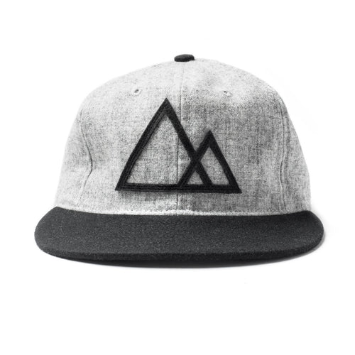 Mountains Hat Black
