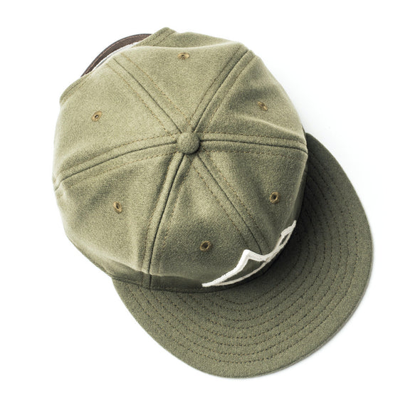 Mountains Hat Olive