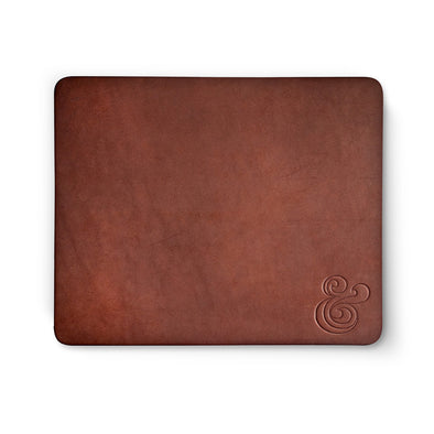 Premium Leather Mousepad Brown