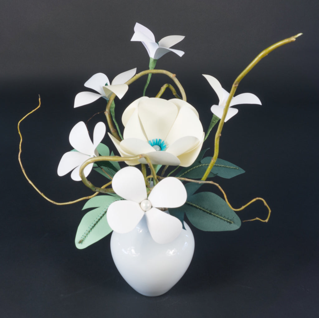 Private Paper Flower Making Class