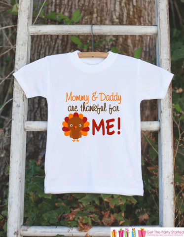 157388d995d4 ... Mommy and Daddy are Thankful for Me Thanksgiving Onepiece - Baby's 1st Thanksgiving  Outfit for Baby ...