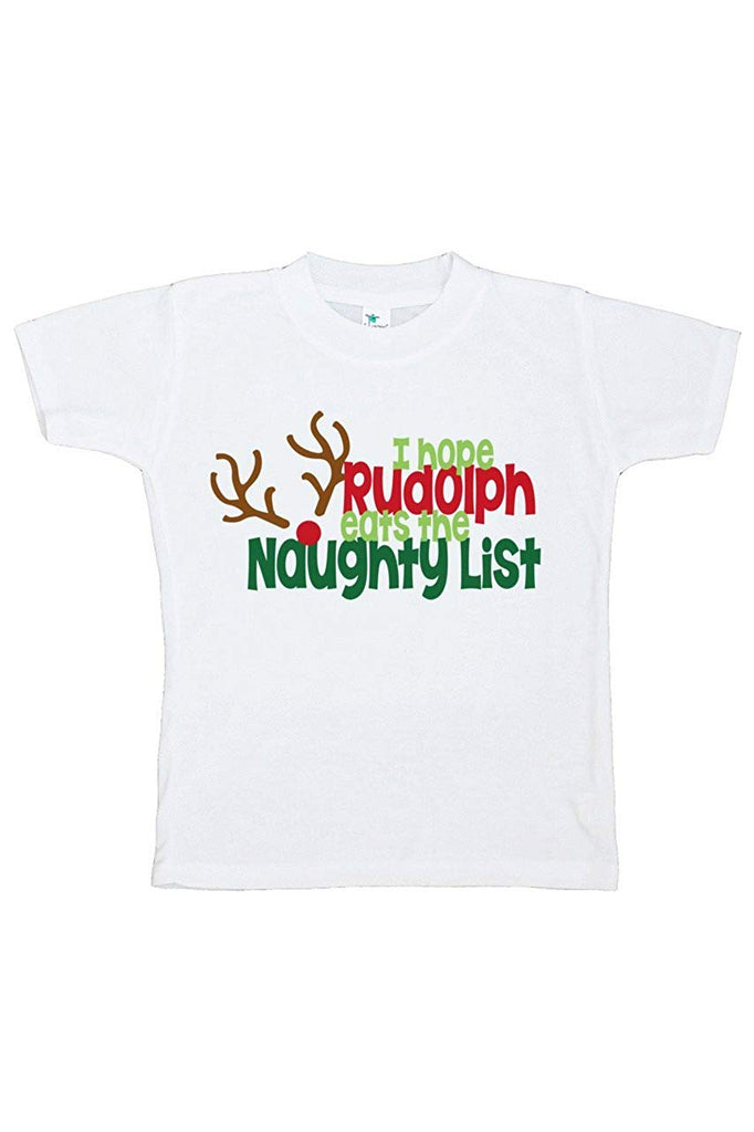 cad81d3d38 7 ate 9 Apparel Kids Funny Naughty List Christmas T-shirt – Get The Party  Started