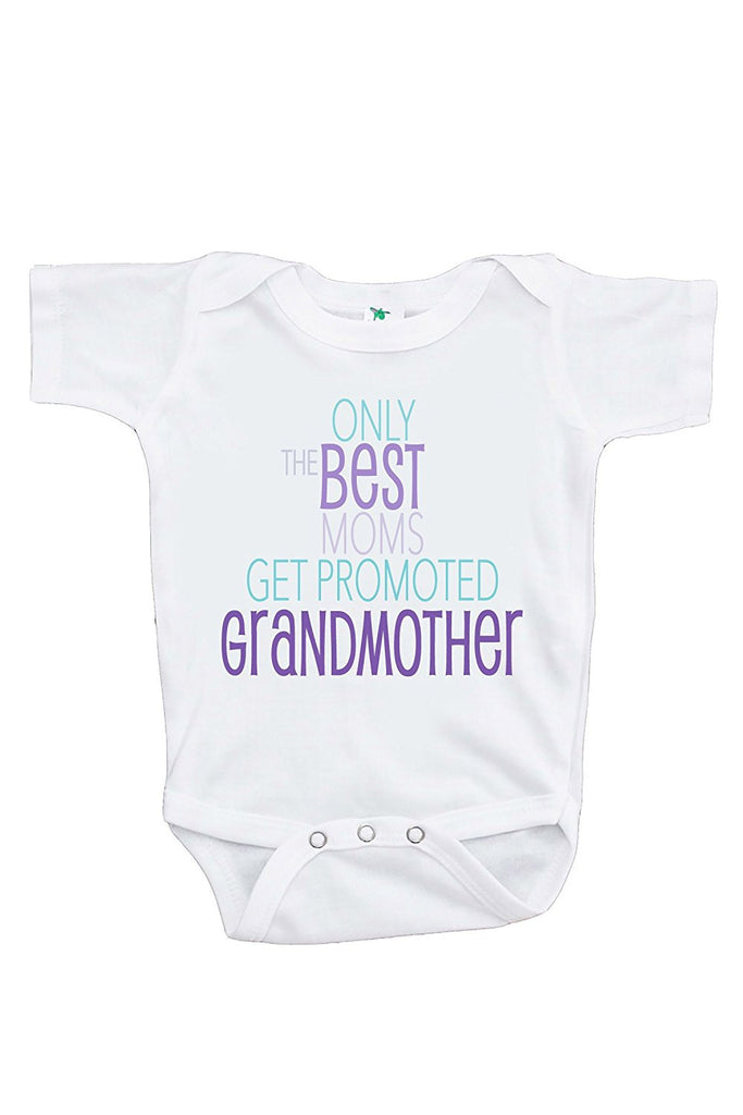 Best Moms Get Promoted to Grandmother Pregnancy Announcement Onepiece