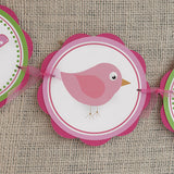 Birdie Happy Birthday Banner Large - Hot Pink & Lime Green - Get The Party Started