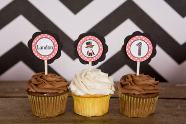 Magician Cupcake Toppers Birthday Party - Get The Party Started