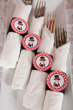 Magician Napkin Rings Birthday Party - Get The Party Started