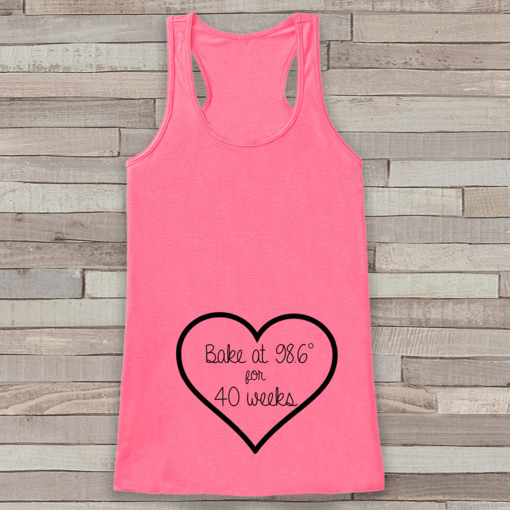 Pregnancy Announcement Tank - Pregnancy Shirt - Pregnancy Reveal to Grandparents - Pink Tank - Pregnancy Announcement Shirt - New Mom - Get The Party Started