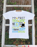 First New Year Outfit - Personalized New Years Eve Onepiece - Baby's First Holiday - 1st New Year Bodysuit for Baby Boys - Kiss at Midnight