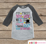 First New Year Outfit - Custom New Years Shirt - Personalized New Years Eve Onepiece - Baby's First Holiday - 1st New Year Baby Bodysuit - Get The Party Started
