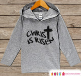 Kids Easter Outfit - Easter Christ is Risen Hoodie - Easter Spring Pullover - Baby Boy or Girl Easter Outfit - Kids Religious Toddler Hoodie - Get The Party Started