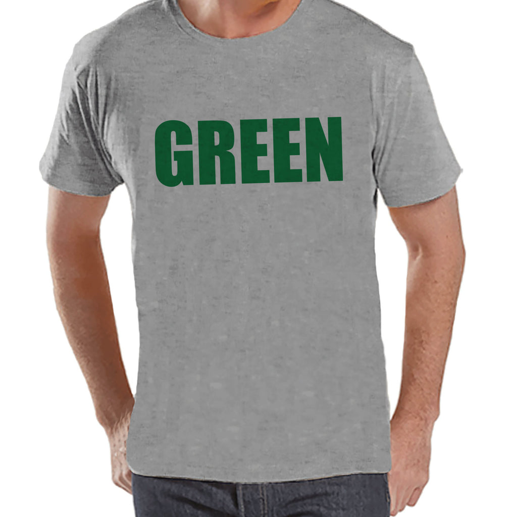 Men's St. Patrick's Day Shirt - Funny St Patricks Shirt - Wear Green - Pinch Proof - No Pinching - Mens Grey T-Shirt - St. Patty's Tshirt - Get The Party Started