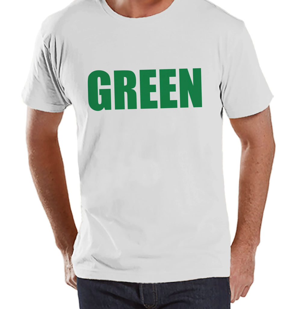 Men's St. Patrick's Day Shirt - Funny St Patricks Shirt - Wear Green - Pinch Proof - No Pinching - Mens White T-Shirt - St. Patty's Tshirt - Get The Party Started