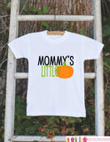 Mommy's Little Pumpkin Halloween Shirt - Pumpkin Onepiece - Fall Outfit for Baby Boy or Baby Girl - Halloween Outfit - Kids Novelty Shirt - Get The Party Started