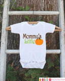 Mommy's Little Pumpkin Thanksgiving Shirt - Pumpkin Onepiece - Fall Outfit for Baby Boy or Baby Girl - Pumpkin Shirt - Kids Novelty Shirt - Get The Party Started