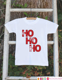 HO HO HO Christmas Outfit - Christmas Onepiece - Baby's First Holiday Christmas Shirt - Newborn Christmas Onepiece - Christmas Pajamas - Get The Party Started