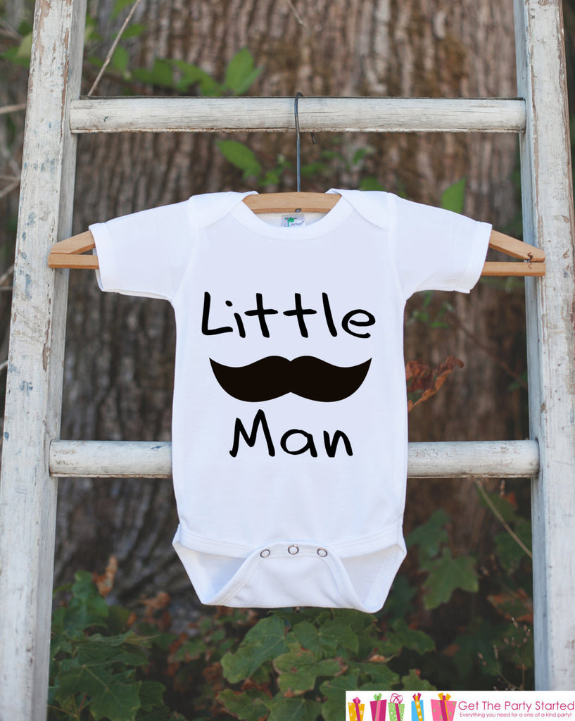 Mustache Onepiece - Little Man Bodysuit - Going Home Outfit - Little Man Mustache Bodysuit - Coming Home Outfit - Newborn Hospital Outfit - Get The Party Started