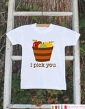 Novelty Fall Outfit - Thanksgiving Shirt - Baby Novelty Onepiece - Fall Outfit for Baby Boy or Baby Girl - Thanksgiving Bodysuit with Apples - Get The Party Started