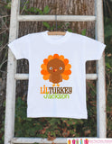 Lil Turkey Thanksgiving Shirt - Thanksgiving Onepiece - Thanksgiving Outfit for New Baby Boy or Baby Girl - Custom First Thanksgiving Top - Get The Party Started