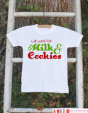 Novelty Christmas Outfit - Will Work for Milk & Cookies Onepiece - Humorous Christmas Shirt for Baby Boy or Baby Girl - Christmas Outfit - Get The Party Started
