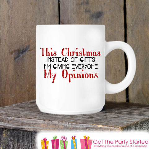 Coffee Mug, Funny Christmas Gift Novelty Ceramic Mug, Coffee Cup Gift, Gift for Him or Her, Coffee Lovers, Christmas Gift Idea - Get The Party Started
