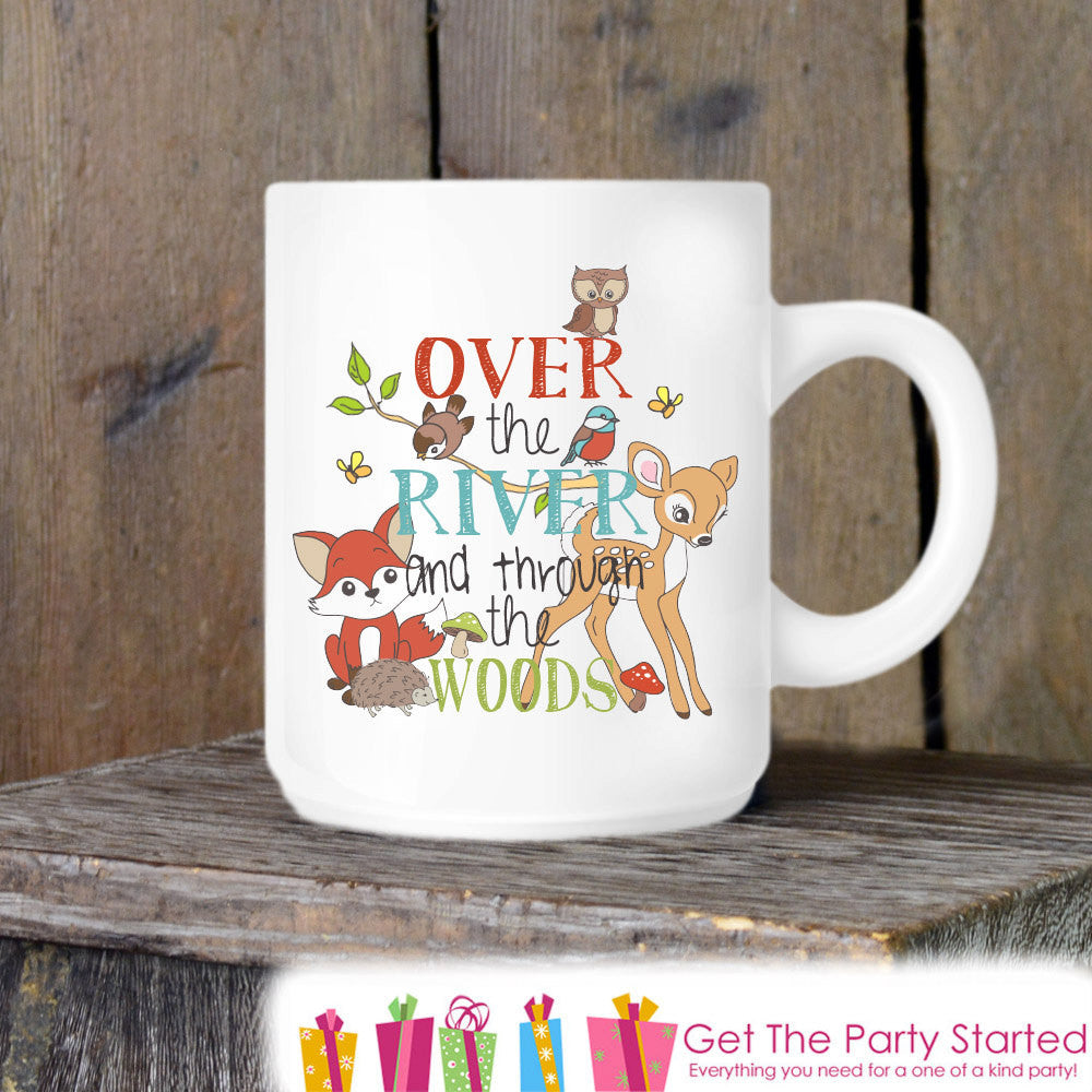 Coffee Mug, Grandma's House, Woodland Coffee Mug, Grandparent Gift Idea, Grandmother Coffee Cup Gift - Mother's Day Gift Idea - Grandparent - Get The Party Started