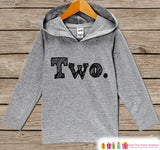 Two Birthday Shirt - Kids Hoodie - Two Pullover - 2nd Birthday Outfit - Girls or Boys Hoodie - Second Birthday Shirt - Kids 2nd Birthday Top