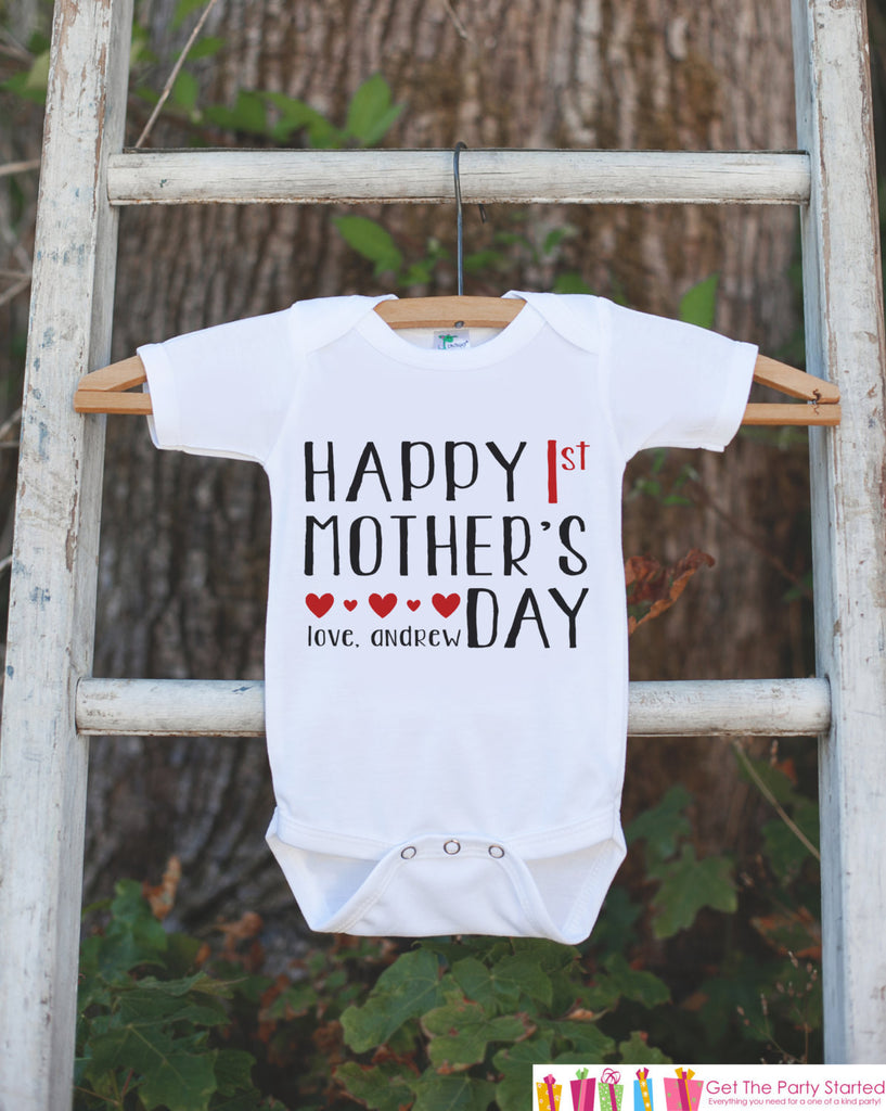 Happy Mother/'s Day Mommy Baby Long Sleeve Bodysuit