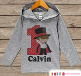 Magician Birthday Outfit - Kid Hoodie - First Birthday Pullover - 1st Birthday Shirt - Boy Hoodie - First Birthday Top - Boys Magic Hoodie