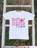 Big Sister Crab Onepiece or T-shirt - Custom Summer Outfit For Kids, Infants - Summer Onepiece or Shirt, Baby, Youth, Toddler - Fun Outfit