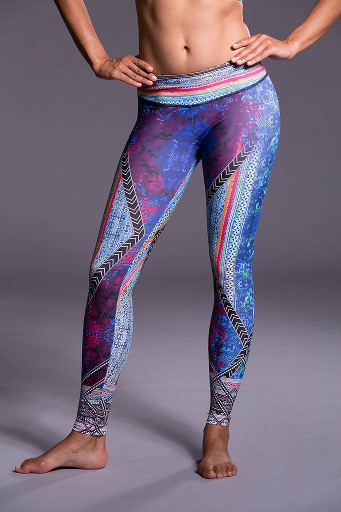 Indo Mix - Graphic Legging, Onzie - Pronounce Activewear