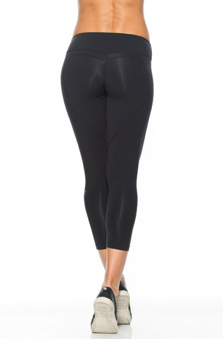 High Rise Graphic Capri Pant - Great Spirit