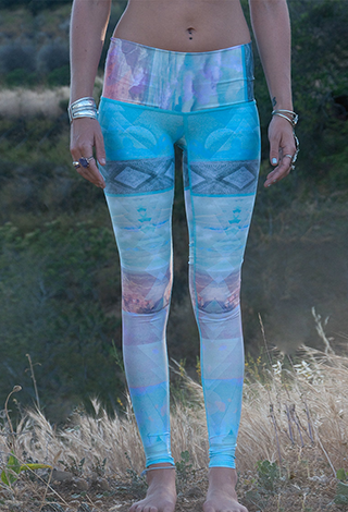 Tarot High Waisted Hot Pant Legging by Teeki, Teeki - Pronounce Activewear