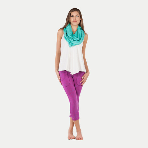 Raya Draped Tank by Alo Yoga