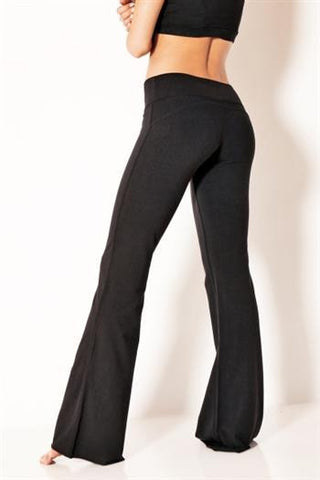 Vivian Capri Black - Bottoms by Pronounce Activewear