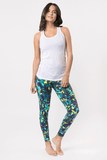 Jungle Vibe Capri by Pronounce, Just Live - Pronounce Activewear